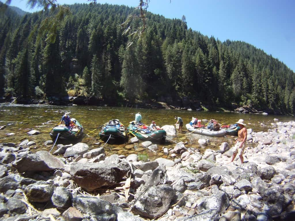 Selway River Fly Fishing
