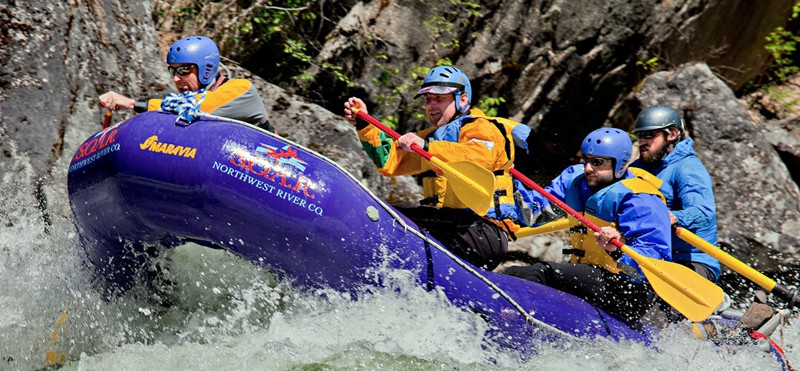 whitewater rafting trips on the main salmon river idaho